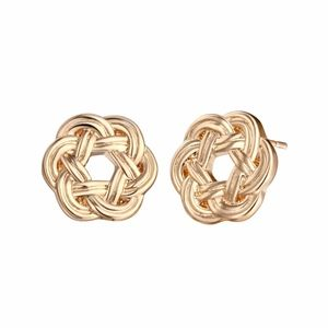 COMING SOON!! 14K Gold Knot Wreath Stud Earrings